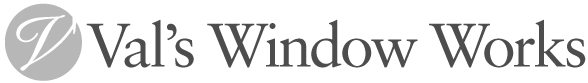 Val's Window Works Logo